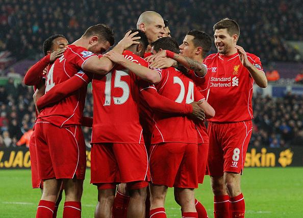 Liverpool top 4
