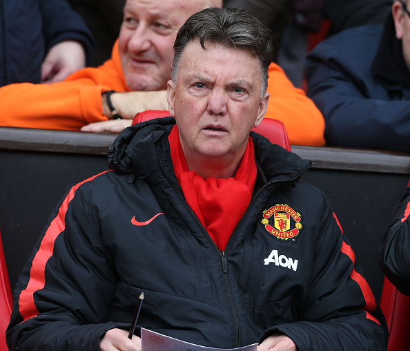 Louis van Gaal Manchester United Top 4 race
