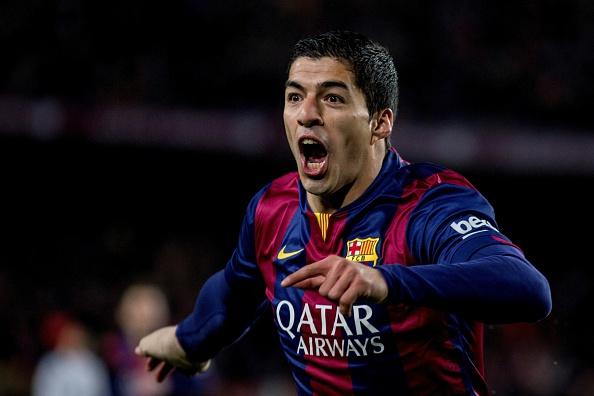 Luis Suarez la liga