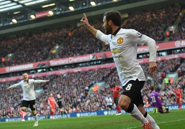 Man Utd goal Anfield