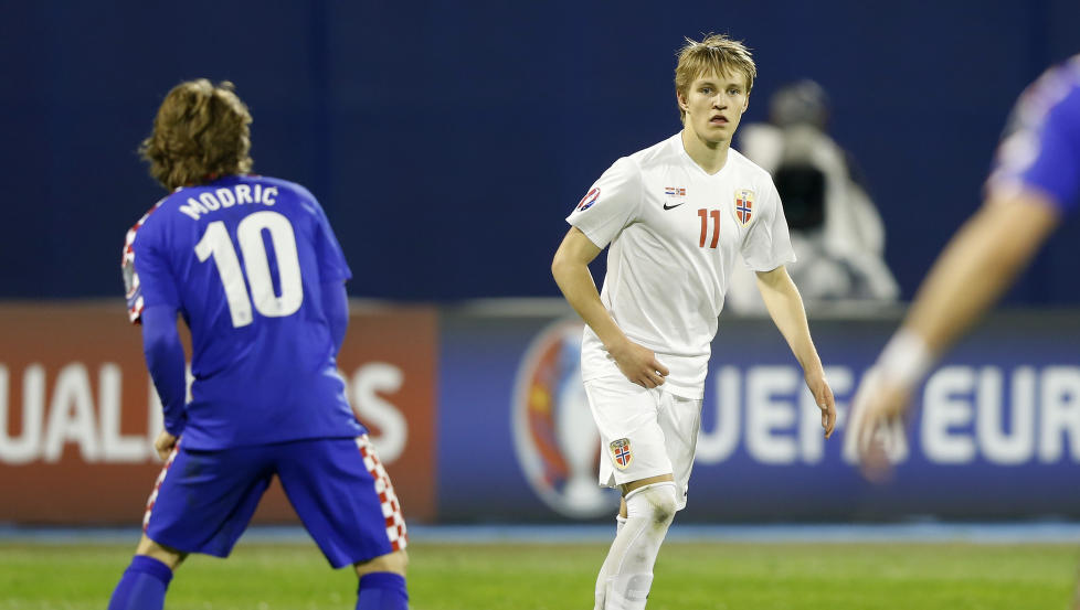 martin odegaard and modric
