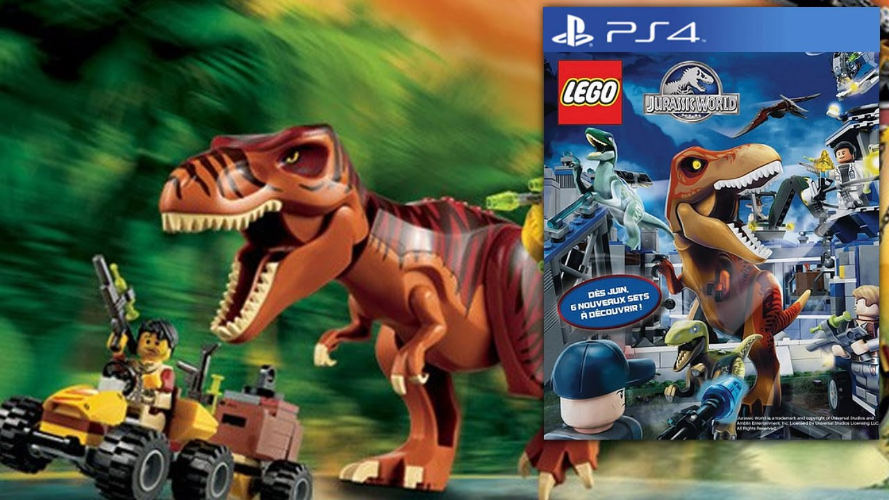 New lego jurassic world trailer replicates famous scenes from lego jurassic park will be releasing this june gumiabroncs Choice Image