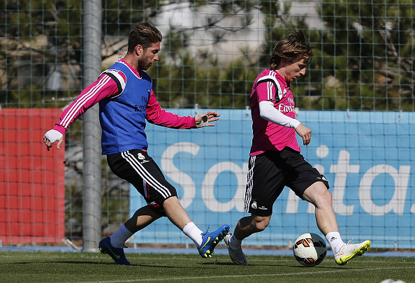 Modric and Ramos