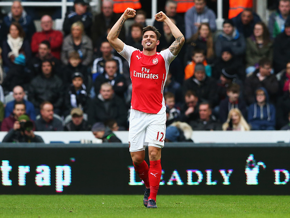 Olivier Giroud best epl striker