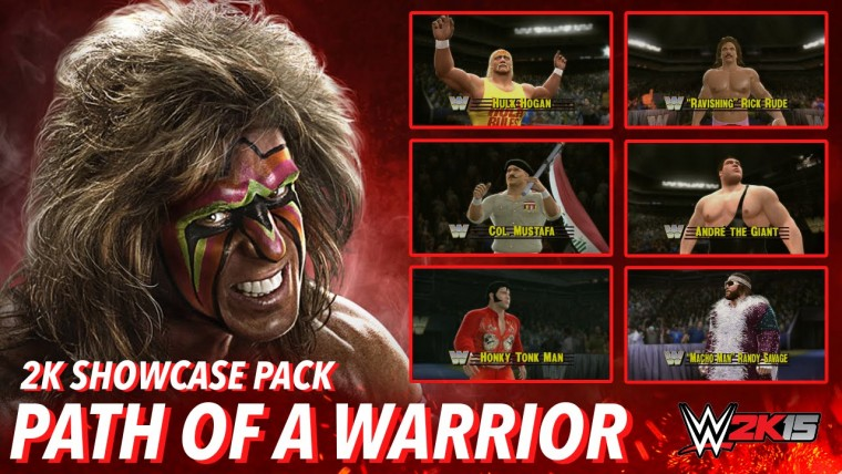 WWE 2K15 Path of the Warrior DLC to be released tomorrow