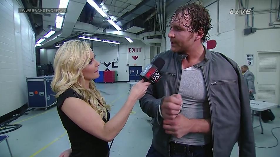 Hvem er dating WWE Divas