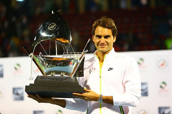 Roger Federer Dubai