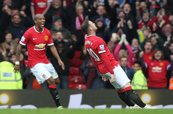 Rooney KO goal celebration