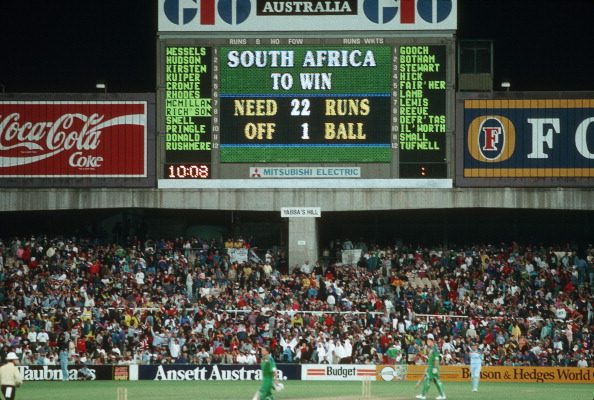 South Africa 22 off 1