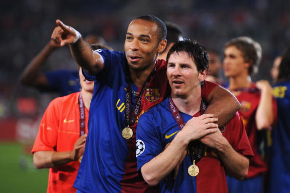 Thierry Henry Messi