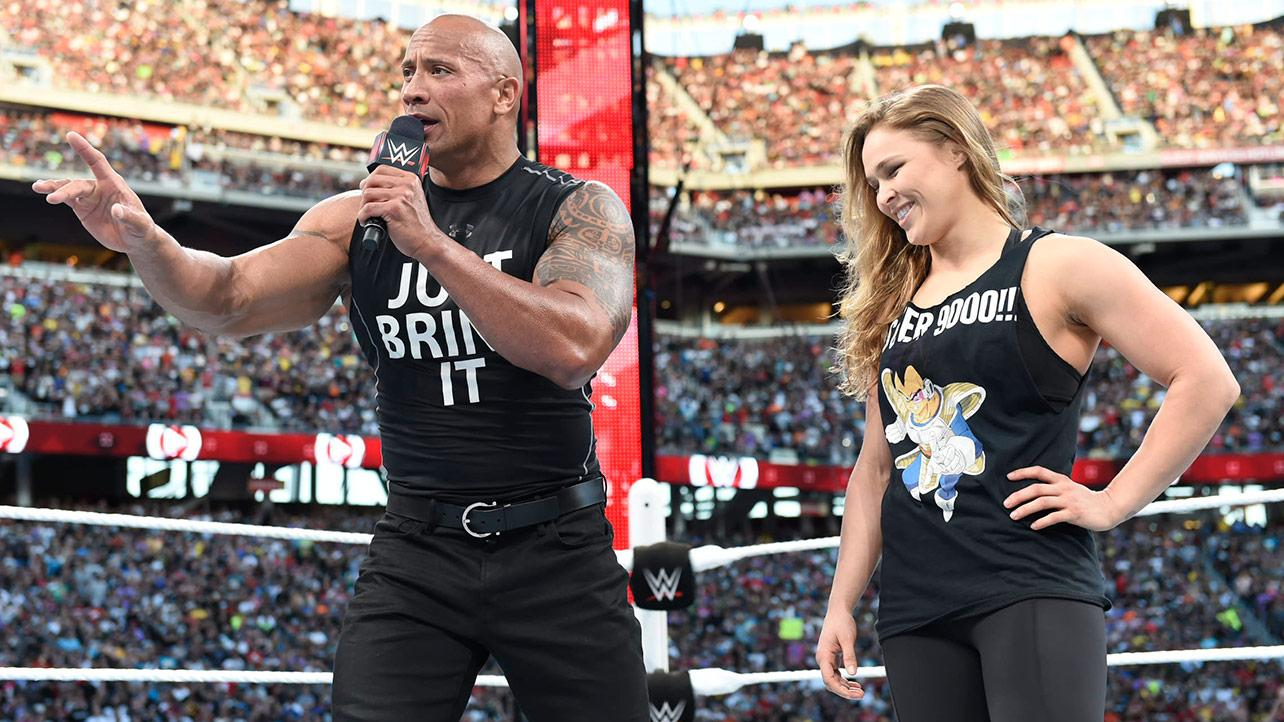 Image result for rousey wrestlemania 31