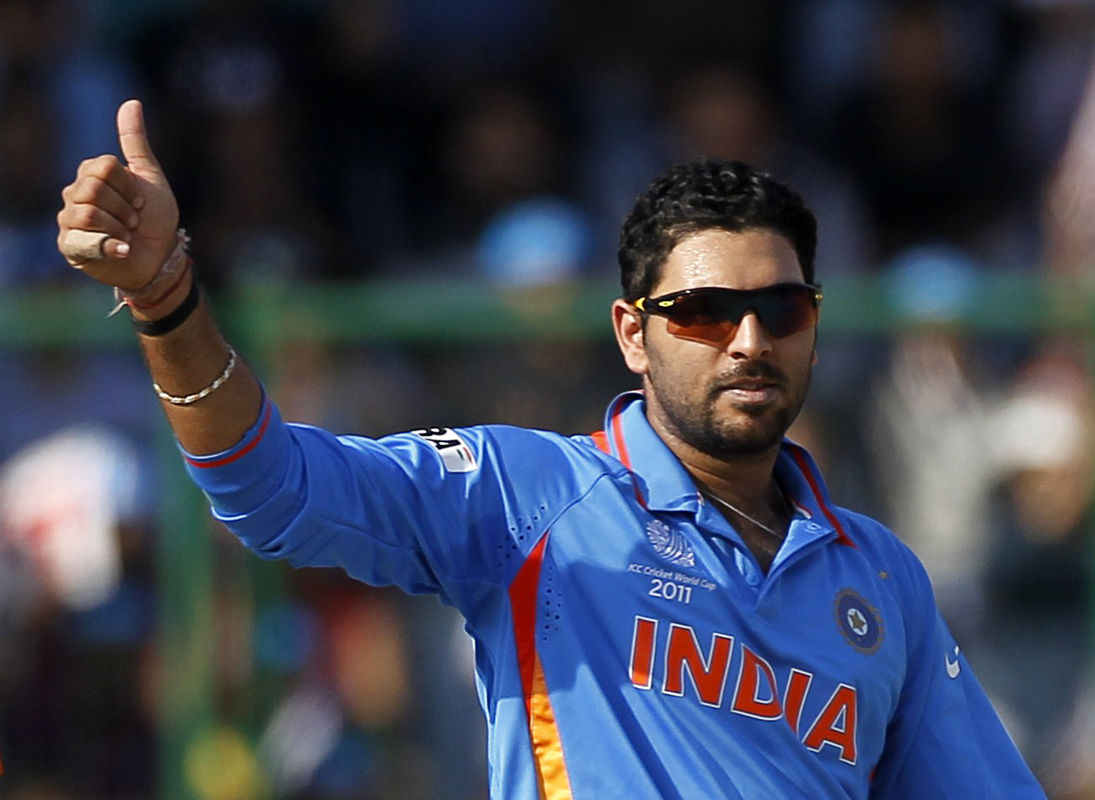 Yuvraj Singh backs India to retain the World Cup