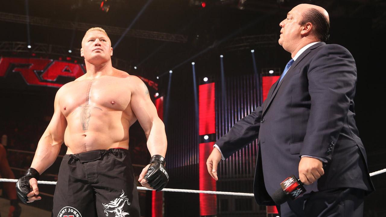 Big News On Brock Lesnar And Paul Heymans Return To WWE TV Deal