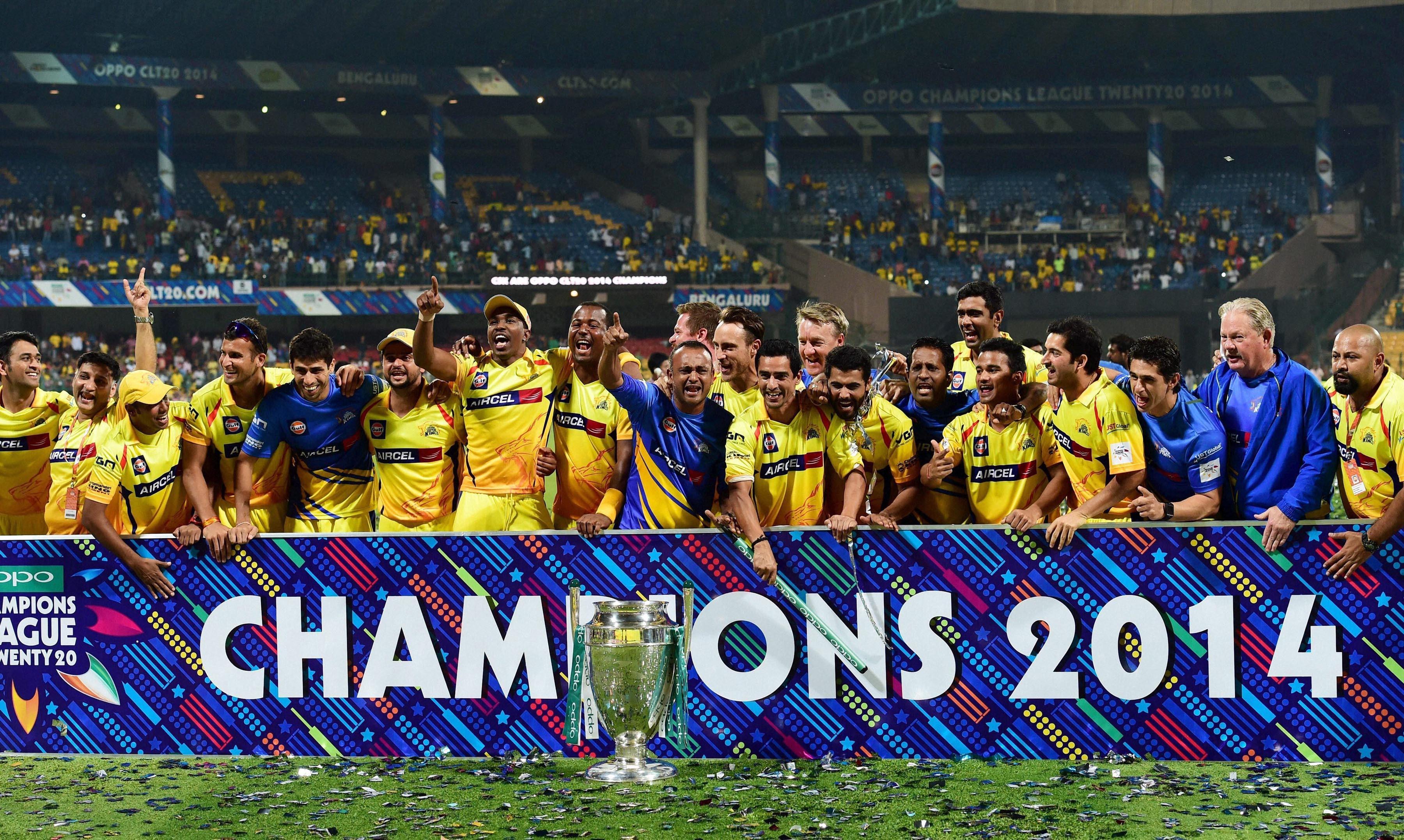Reports Bcci Set To Abandon Champions League T20