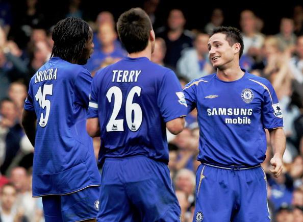 Drogba Terry Lampard