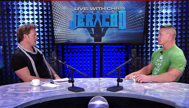 Chris Jericho Podcast: John Cena Reveals Heat With The ...