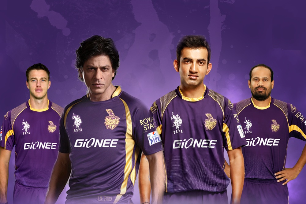 049ca7669 Kolkata Knight Riders 2015 IPL jerseys and t-shirts now available in India