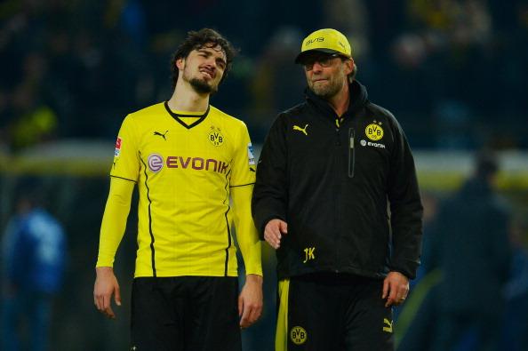 Mats Hummels Manchester United Jurgen Klopp Dortmund