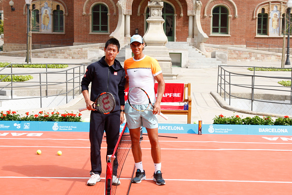 ¿Cuánto mide Kei Nishikori? - Altura - Real height Nadal-nishikori-1429607187