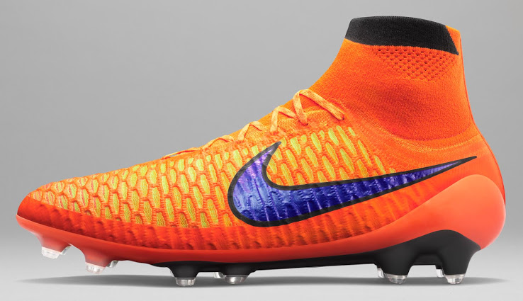 48ac1f623 Orange Nike Magista Obra Summer 2015 Boots