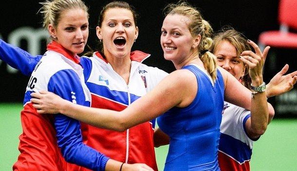 Czech Republic Fed Cup Petra Kvitova