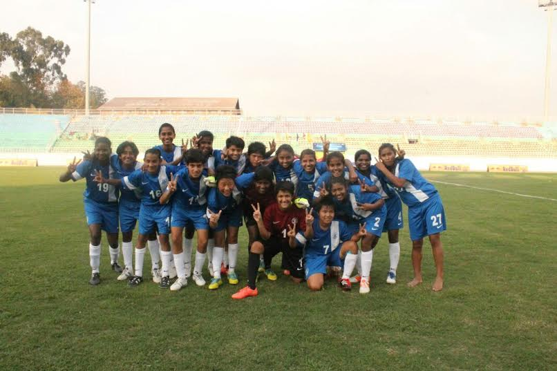 U-14 girls return safely from earthquake struck Kathmandu, Nepal