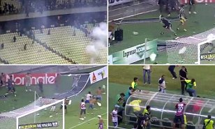 Crowd trouble in Brazil