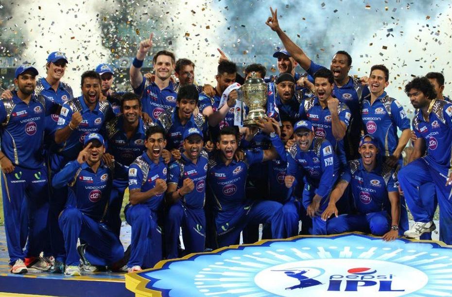 Mumbai Indians 2015 IPL Champions