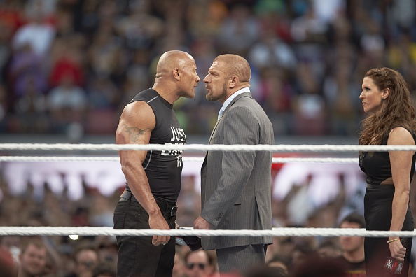 The Rock and Triple H