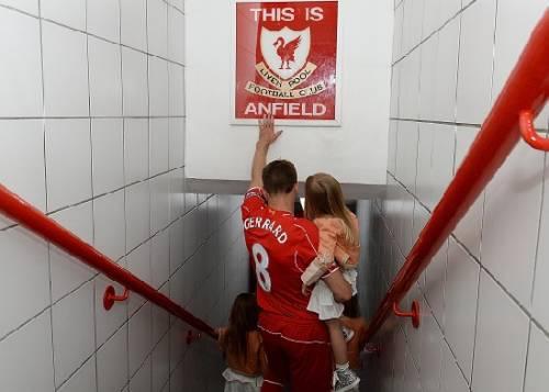 Steven Gerrad Liverpool