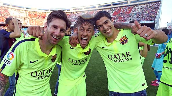 Lionel Messi Neymar Luis Suarez