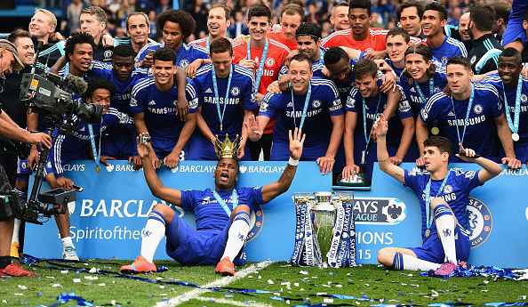 Chelsea premier league champs
