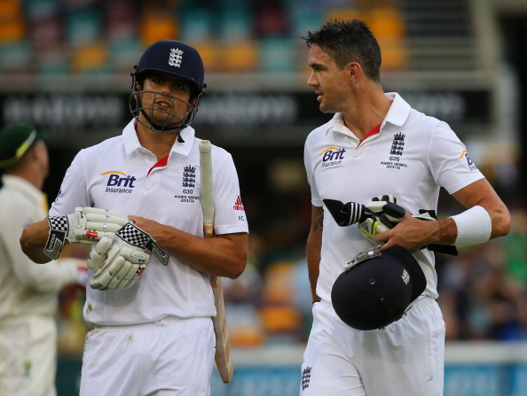 Alastair Cook Kevin Pietersen