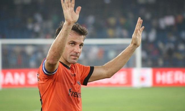 Alessandro Del Piero ISL Delhi Dynamos