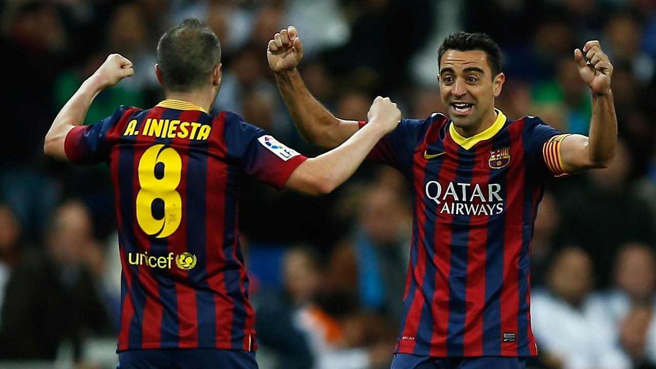 Barcelona s Andres Iniesta pays tribute to teammate Xavi