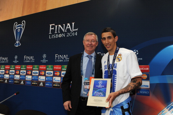 Angel Di Maria man of the match Real Madrid Champions League final