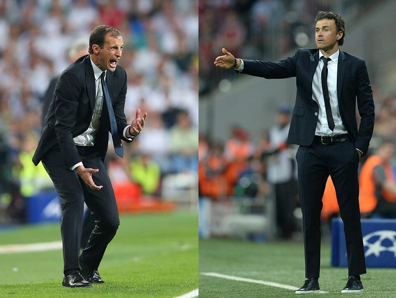 Barcelona Juventus treble