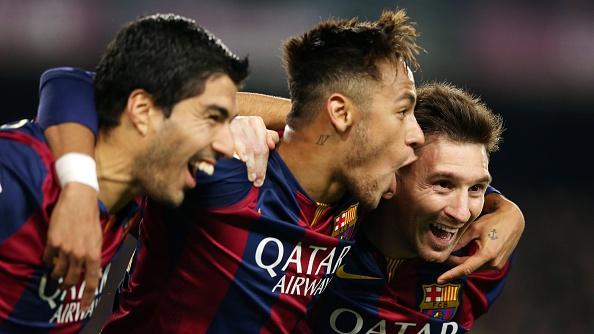 Barcelona Messi Neymar Suarez MSN