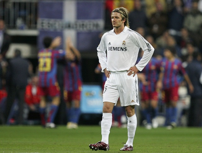 a7c4561f1bb beckham David Beckham endured many highs and lows at Real Madrid