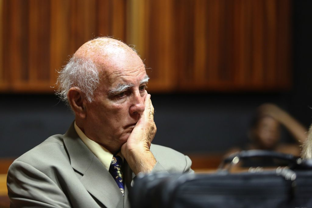 Former tennis player Bob Hewitt jailed for six years for rape