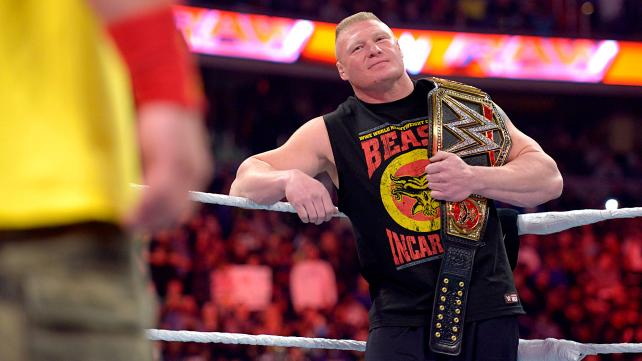 The Beast Incarnate Brock Lesnar