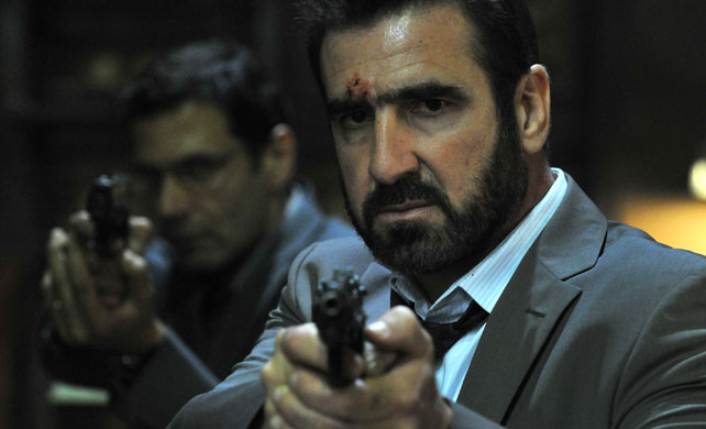 Cantona in a still from the movie 'Switch'