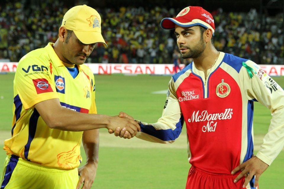 Chennai Super Kings Royal Challengers Bangalore