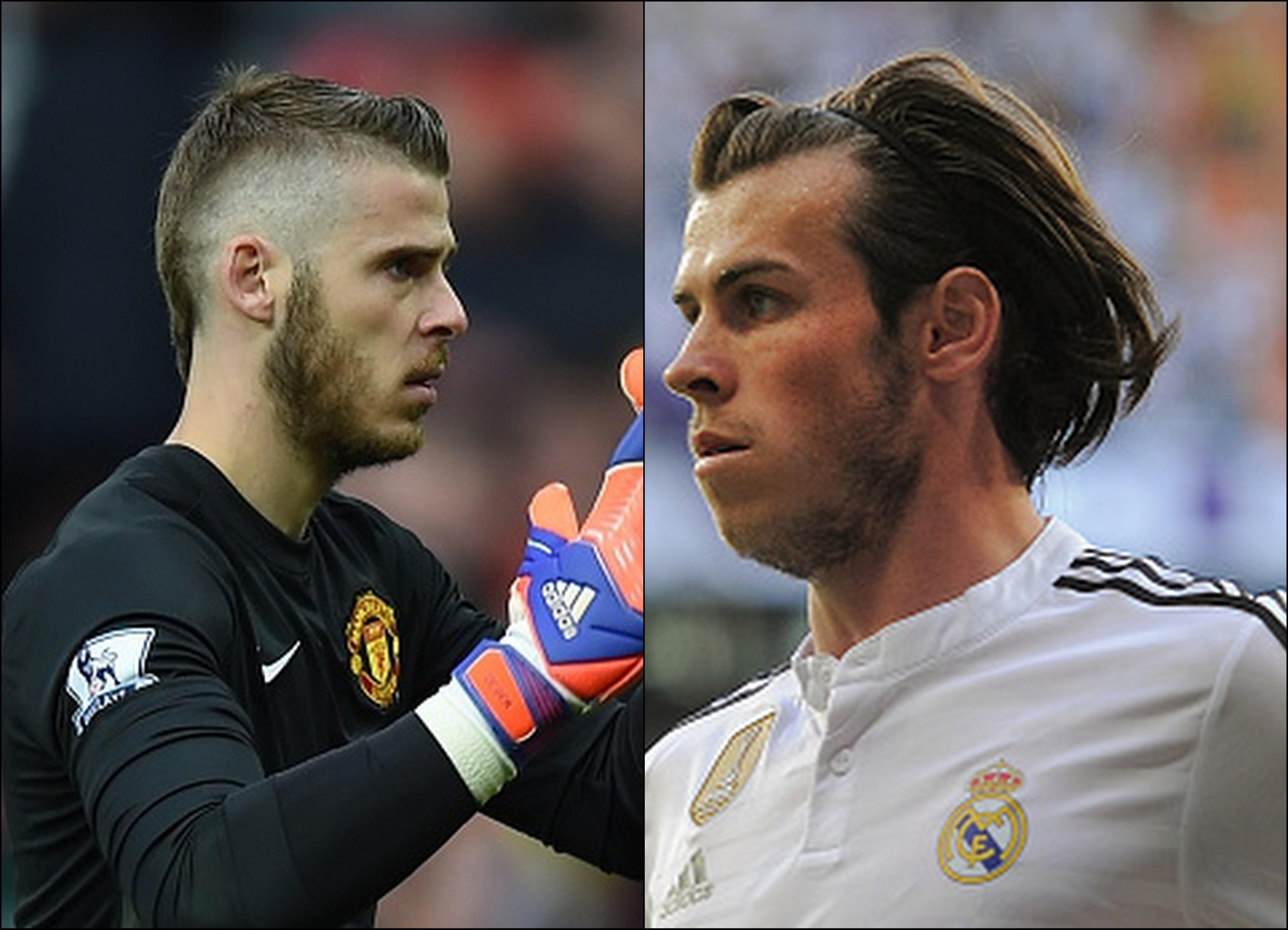 David De Gea and Gareth Bale