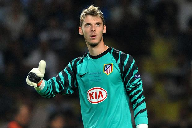 De Gea at Atletico Madrid
