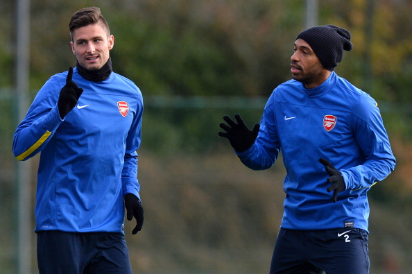 Thierry Henry Olivier Giroud