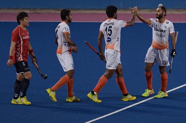 India hockey Japan
