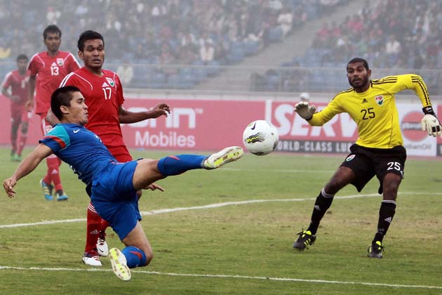 India qualify 2018 FIFA World Cup