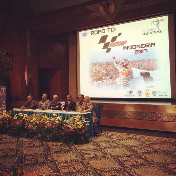 MotoGP and Indonesia Govt Meet