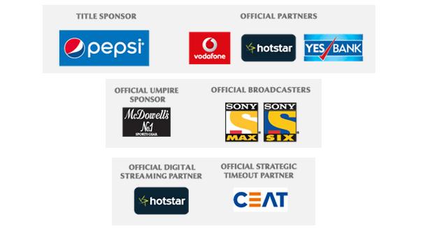 IPL Sponsors
